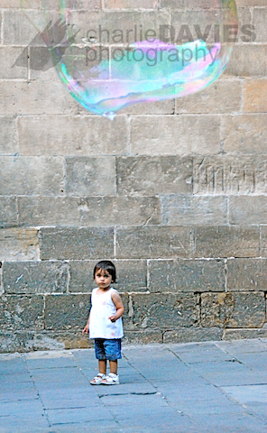 Girl & The Bubble