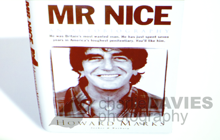 Photographing Howard Marks AKA Mr Nice